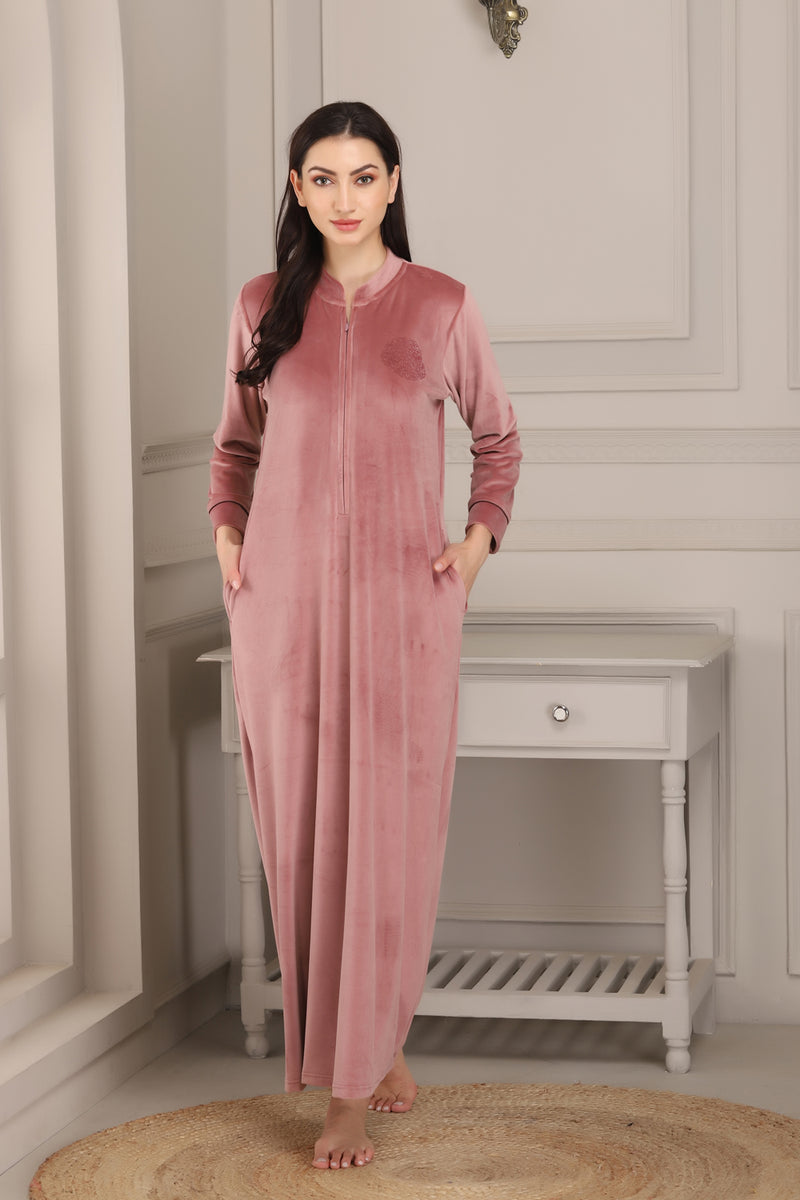 Super Soft Velvet Nighty