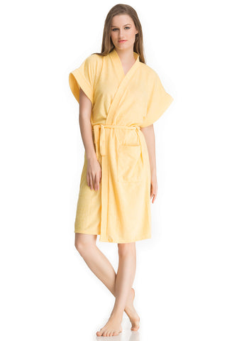 Yellow Bath Gown