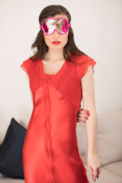 Red Long Nighty