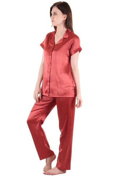 Ultra-luxe after-hours Satin Night-Suit