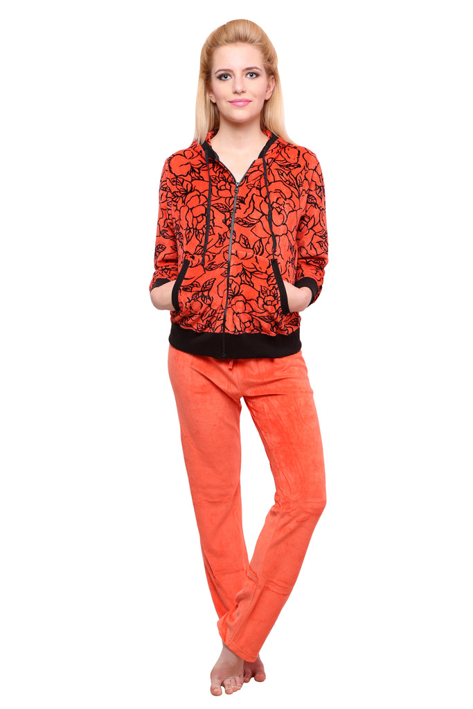 Orange Printed Nightwear - Private Lives