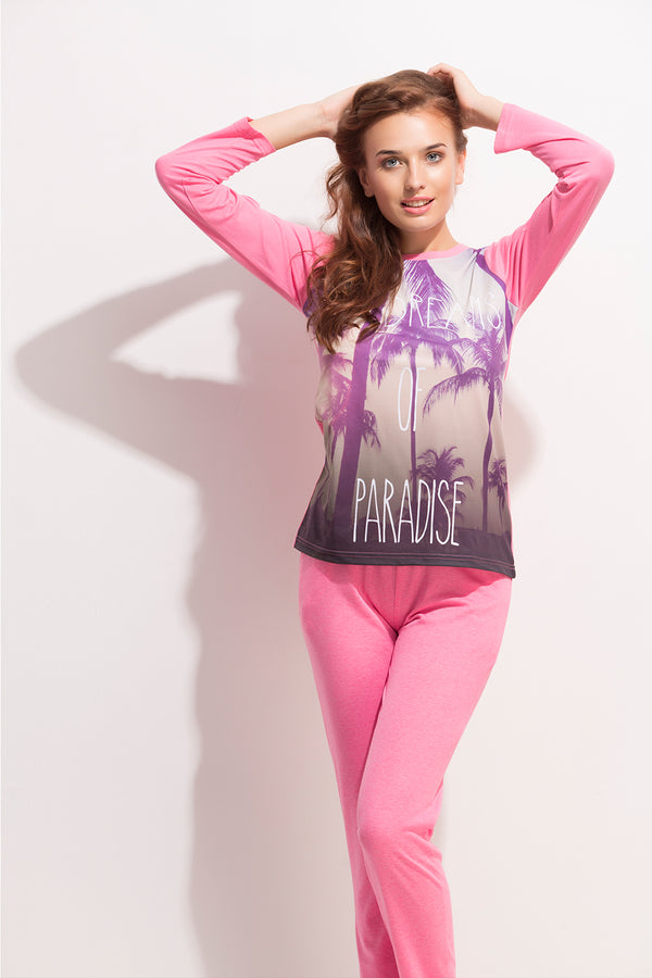 Dream of Paradise Knit Night suit