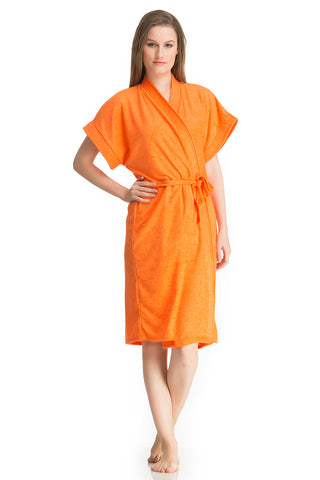 Orange Bath Gown