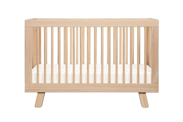 Hudson 3-in-1 Convertible Crib with Toddler Bed Conversion Kit (Natural)