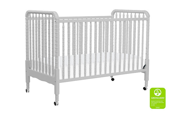 Jenny Lind 3-in-1 Convertible Crib (Fog Grey)