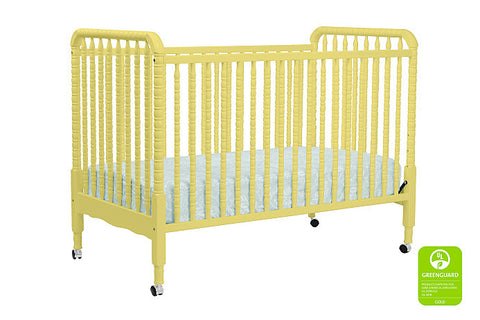Jenny Lind 3-in-1 Convertible Crib with Toddler Bed Conversion Kit (Sunshine)