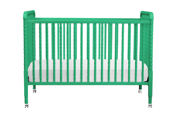 Jenny Lind 3-in-1 Convertible Crib with Toddler Bed Conversion Kit (Emerald)