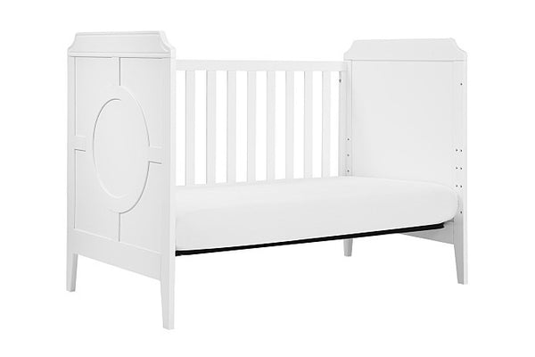 Bundle: DaVinci Baby Poppy Regency 3-in-1 Convertible Crib with Toddler Bed Conversion Kit