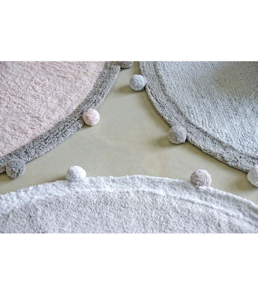Lorena Canals Bubbly Soft Blue Washable Rug