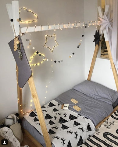 Made-to-Order Teepee Bed