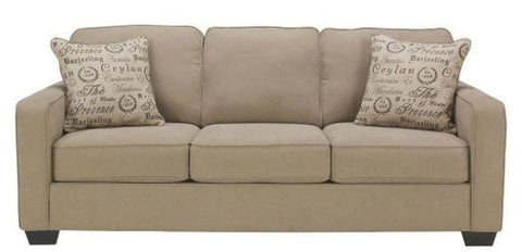 Alenya 3 Seater Quartz Fabric Includes 2 Scatter Cushions - LOUNGE