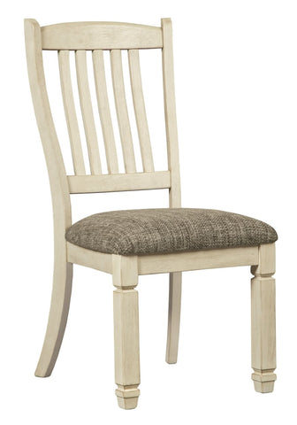 Bolanburg dining chair in two tone finish - DINING