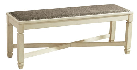 Bolanburg large bech seat in two tone finish - DINING