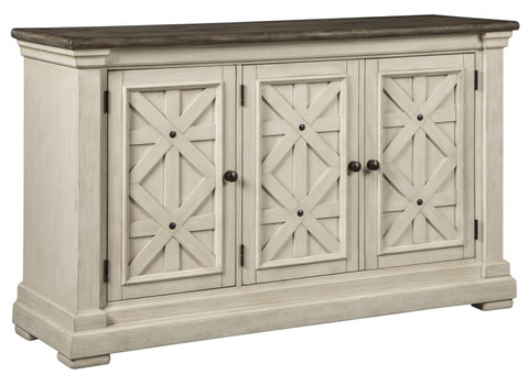 Bolanburg sideboard in two tone finish - DINING
