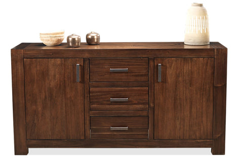 Brooklyn 2 door 3 drawer sideboard in coffee finish - DINING