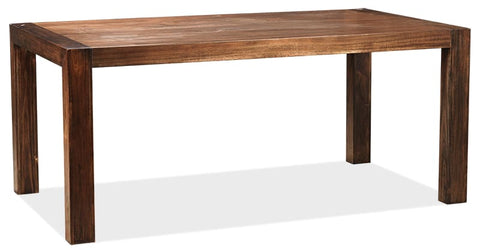 Brooklyn 2100x1000 dining table in coffee finish - DINING