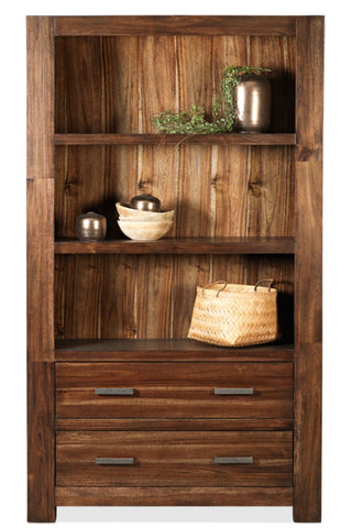 Brooklyn bookcase in coffee finish - OCCASIONAL
