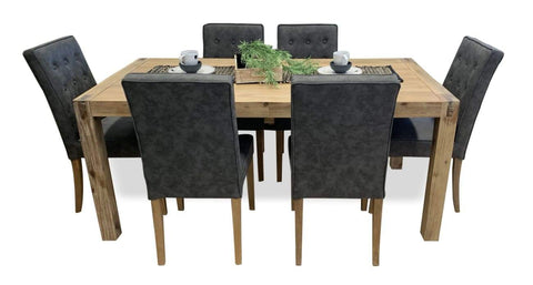 Cable Beach 7 Piece Dining Suite With 180cm Table - DINING
