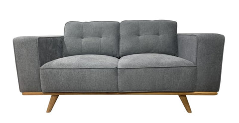 Concord 2 seater sofa with timber base - LOUNGE