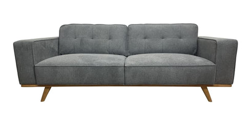 Concord 3 seater sofa with timber base - LOUNGE