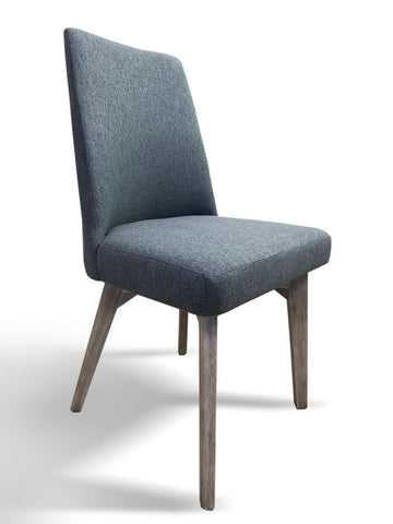 Croft Hardwood Dining Chair In Grey Wash