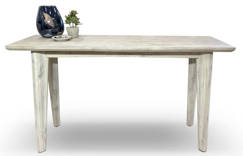 Croft Hardwood Hall Table In Grey Wash