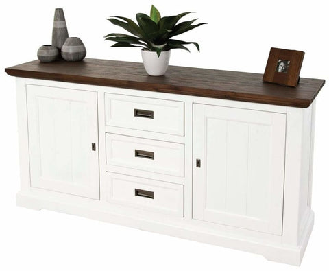 Hampton's Buffet In Two Tone Finish