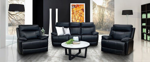 Jackson Leather 3+1+1 Sofa Package