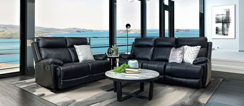 Jackson Leather 3+2 Seater Sofa Package