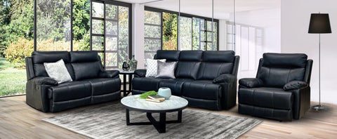 Jackson Leather 3+2+1 Sofa Package