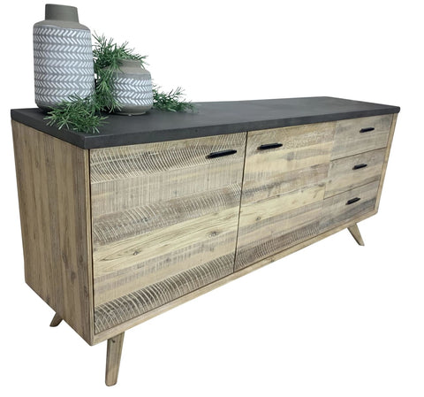 Mallee Buffet with Terrazzo Stone Top - DINING
