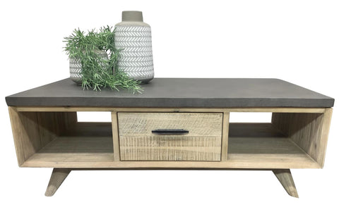 Mallee coffee table with Terrazzo Stone top - OCCASIONAL