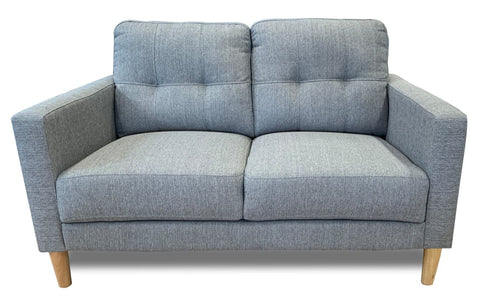 Mallory 2 Seater In Sky #14 Grey - LOUNGE