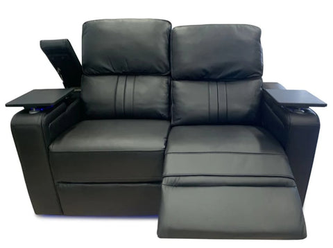 Santana 2 seater lounge with multi function electric function - LOUNGE