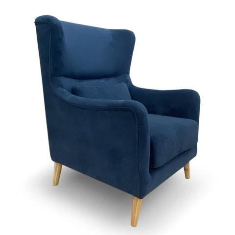 Stacey Accent Chair In Blue