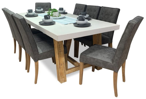 Toledo 9 Piece Dining Package - DINING