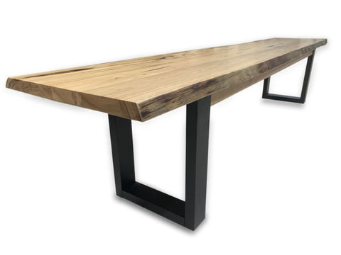 Tribeca 220cm Bench In Messmate Timber