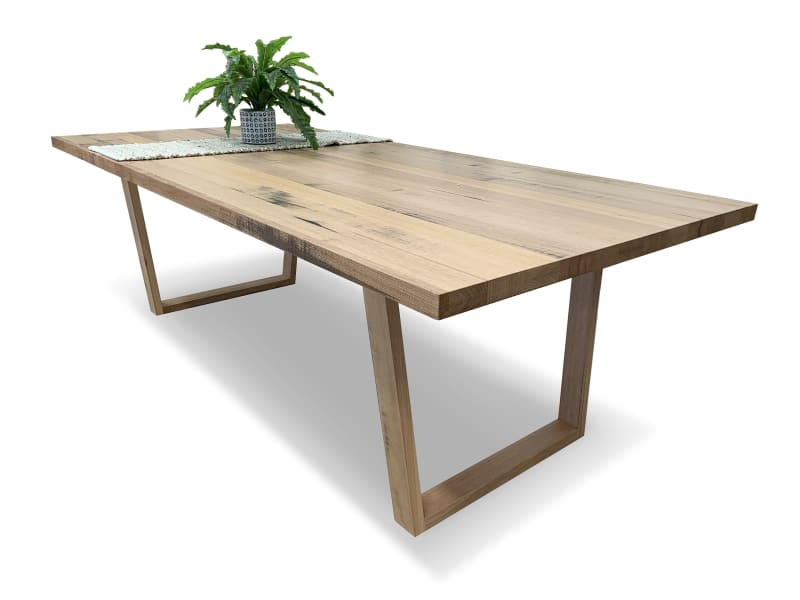 Our Furniture Warehouse Trinidad 2400x1150 Dining Table In Solid Tasmanian Oak