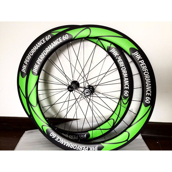 JHK Performance 60mm Tubeless Carbon Fibre wheelset - bicyclehub Cape Towns specialist cycling outlet