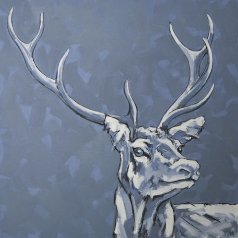 Stag Print - Eastbourne College 150 Stag Print