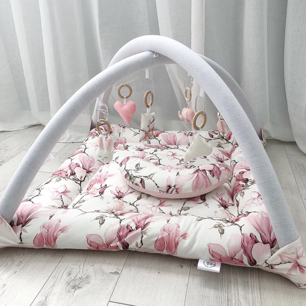 Activity Playmat - Pink Blossoms