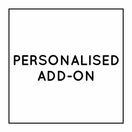 Personalised Option Add-on
