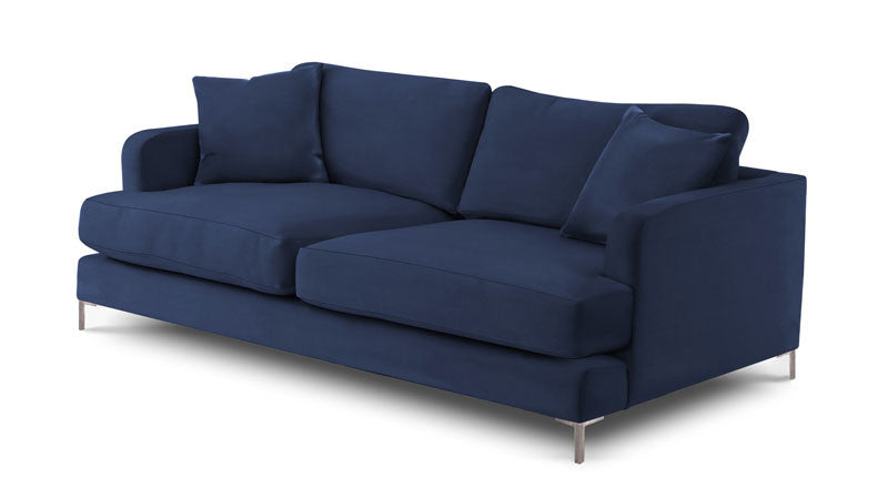 Christo in Voluptuous Velvet - Colour Navy - Huutt
