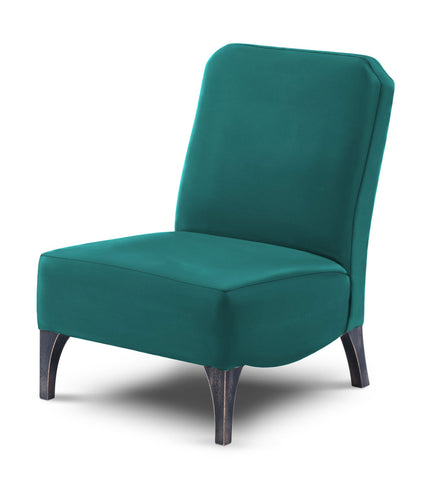 Edith in Voluptuous Velvet - Colour Teal - Huutt