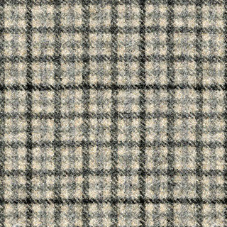 Huutt - PURE WOOL Free swatch - COLOUR GREY BLACK CHECK