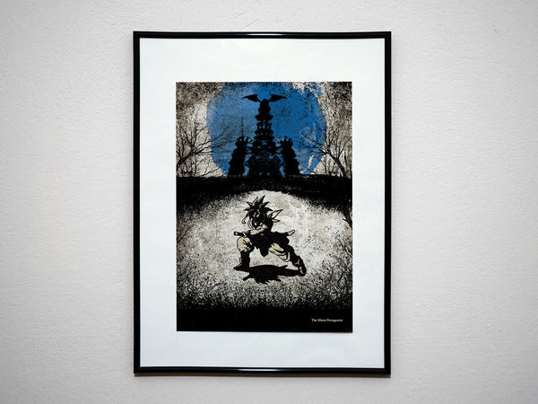"""The Silent Protagonist"" - Video Game Inspired Art Poster Print - Geek Print"