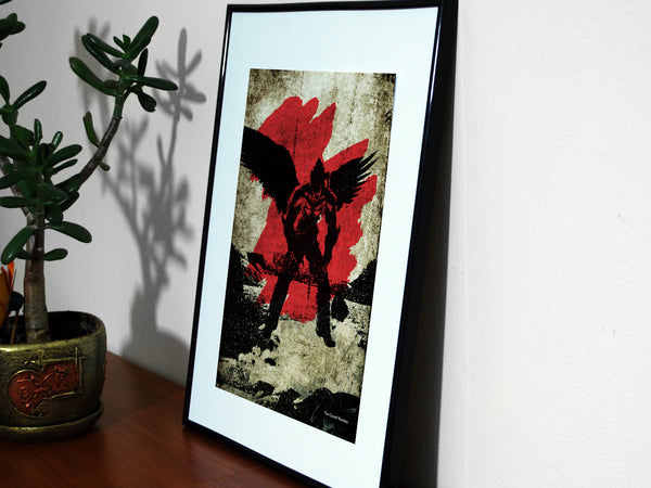 """The Cursed Kazama"" - Video Game Inspired Art Poster Print - Geek Print"