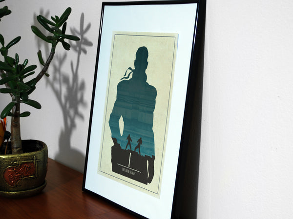 Minimalist Metal Gear Solid Art Poster Print Collection Naked Snake