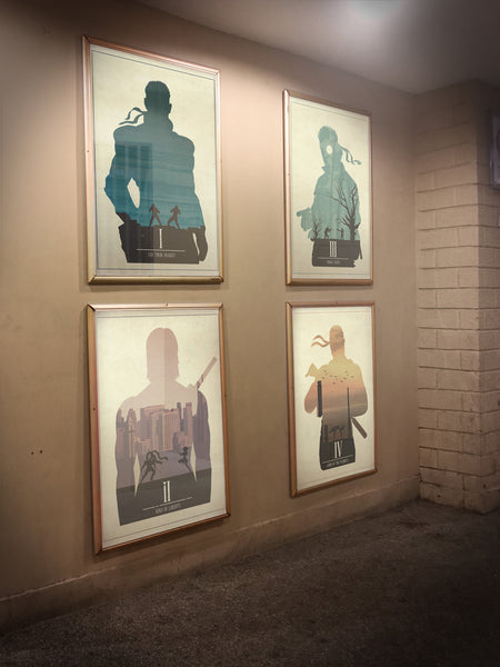 """MGS Collection"" - 4 Piece Bundle Deal - Video Game Inspired Minimalist Art Prints - Geek Print"