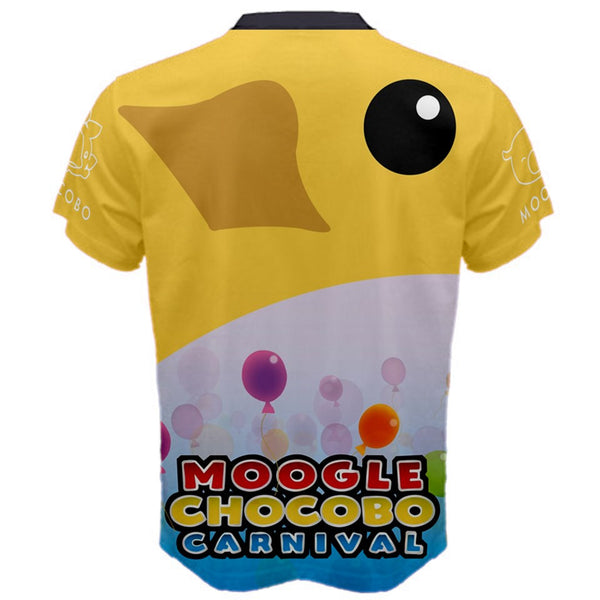 """Moogle Chocobo Carnival"" - High Quality Replica FF15 Tee. Final Fantasy T-Shirt. - Geek Print"